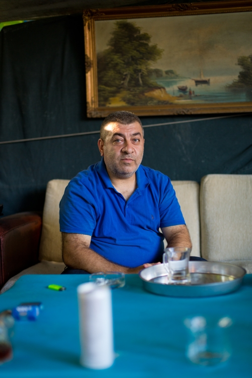 Ahmet Öztürk's friend Cemil. (Photo, Kristina Williamson)